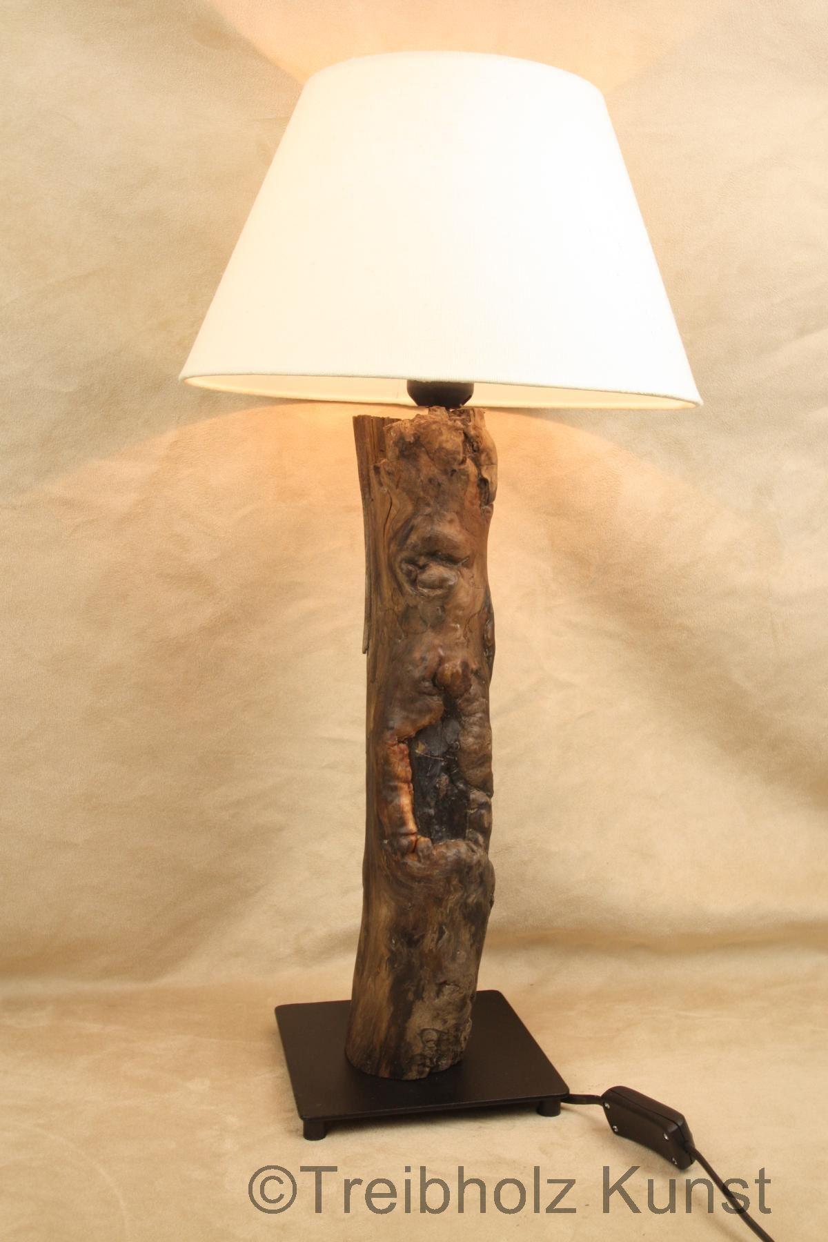 Treibholz Lampen Shop : treibholz lampe mit schirm tischlampe unikat ~ Sanjose-hotels-ca.com Haus und Dekorationen