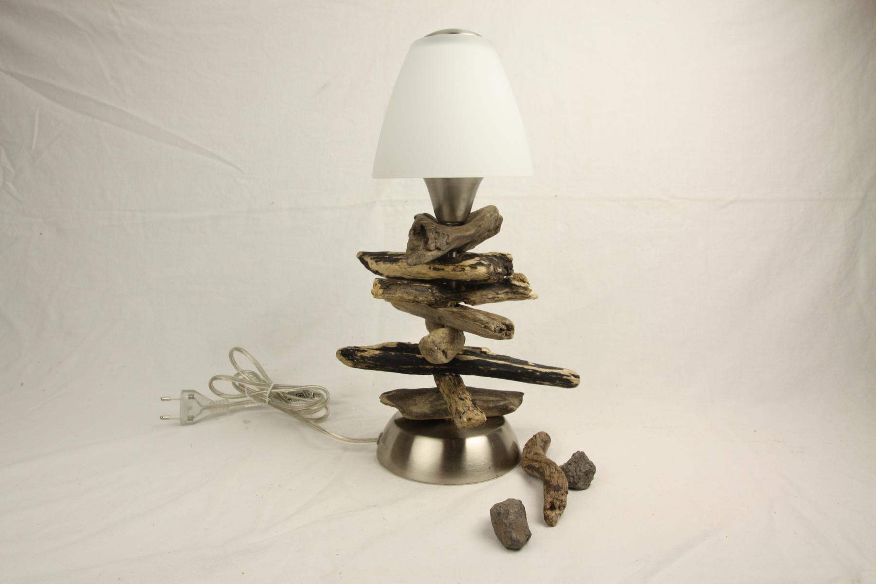 Treibholz Nachttischlampe Wwwtreibholz Bodenseede Tischlampe