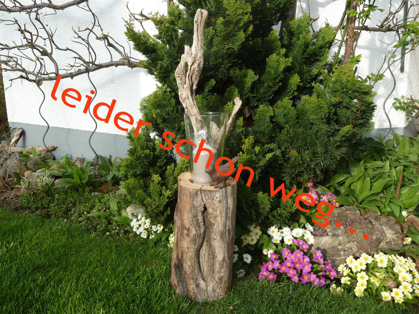 treibholz gartendekoration wandteelichthalter schwemmholz. Black Bedroom Furniture Sets. Home Design Ideas