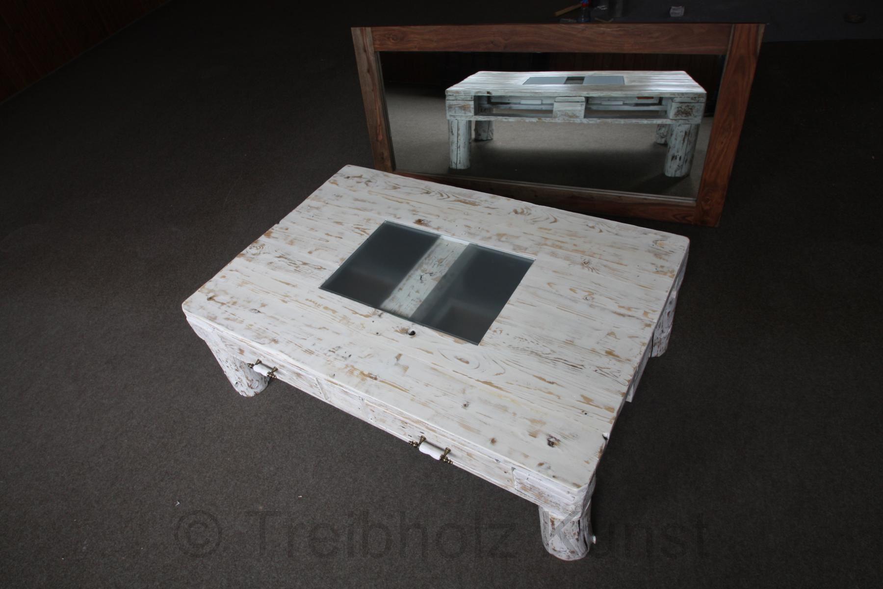 Couchtisch Aus Paletten Mit Glasplatte Caseconrad Com