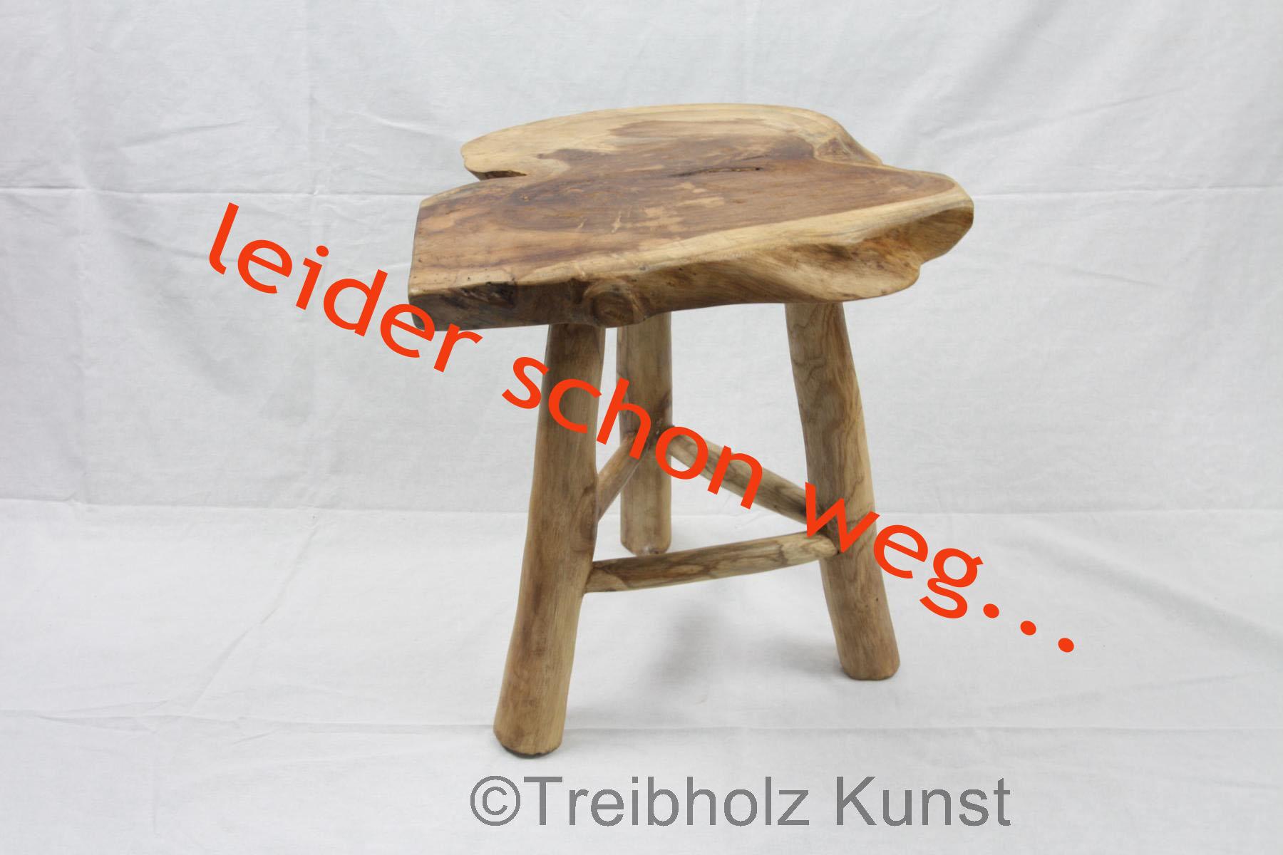 Treibholz tisch schwemmholz - Beistelltisch baumscheibe ...