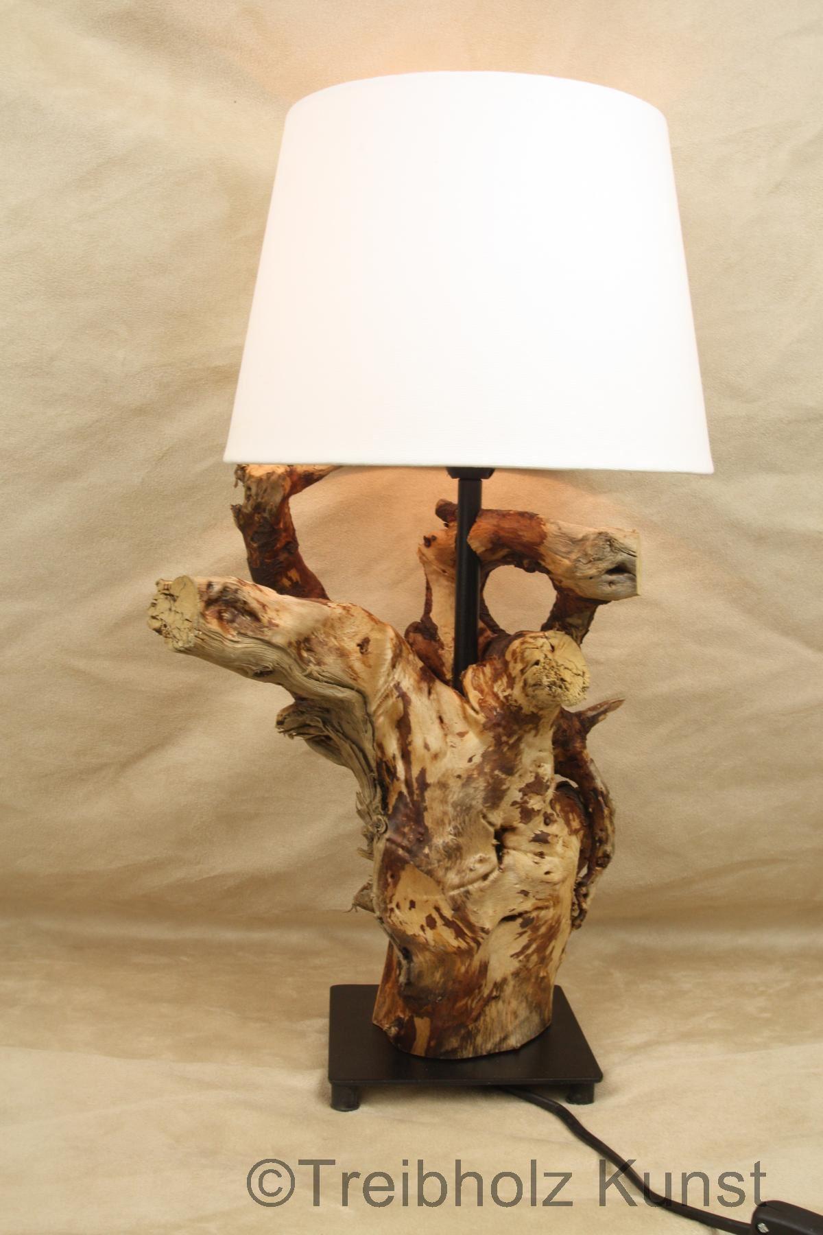treibholz nachttischlampe tischlampe unikat. Black Bedroom Furniture Sets. Home Design Ideas
