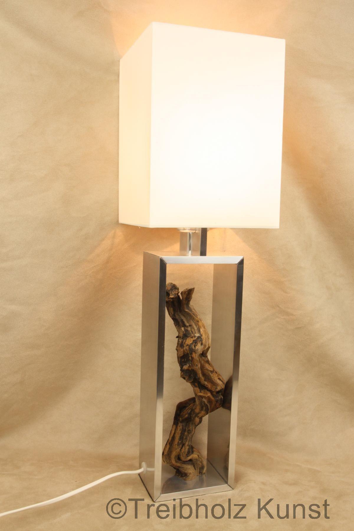 treibholz lampe mit schirm wwwtreibholz bodenseede