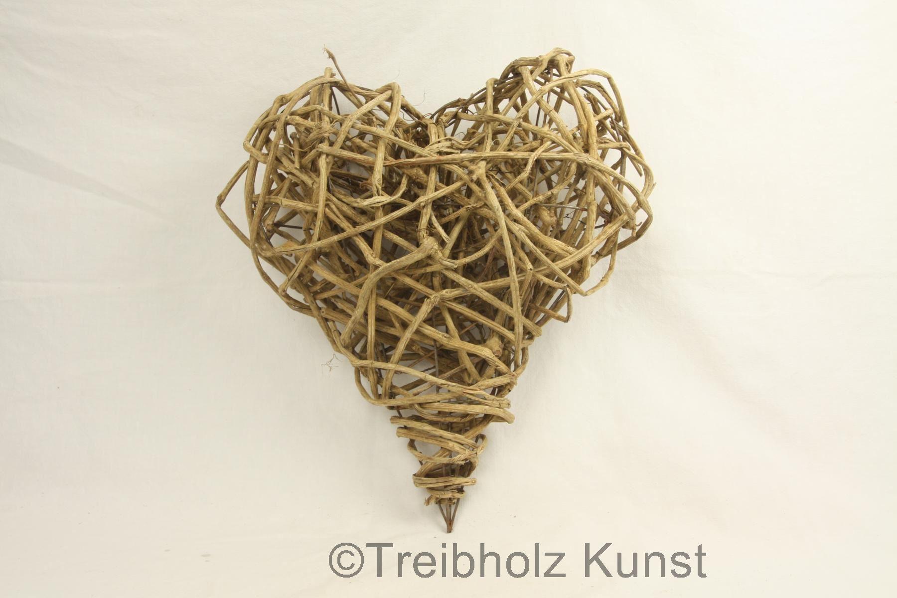einmaliges lianen herz driftwood art vom bodensee. Black Bedroom Furniture Sets. Home Design Ideas