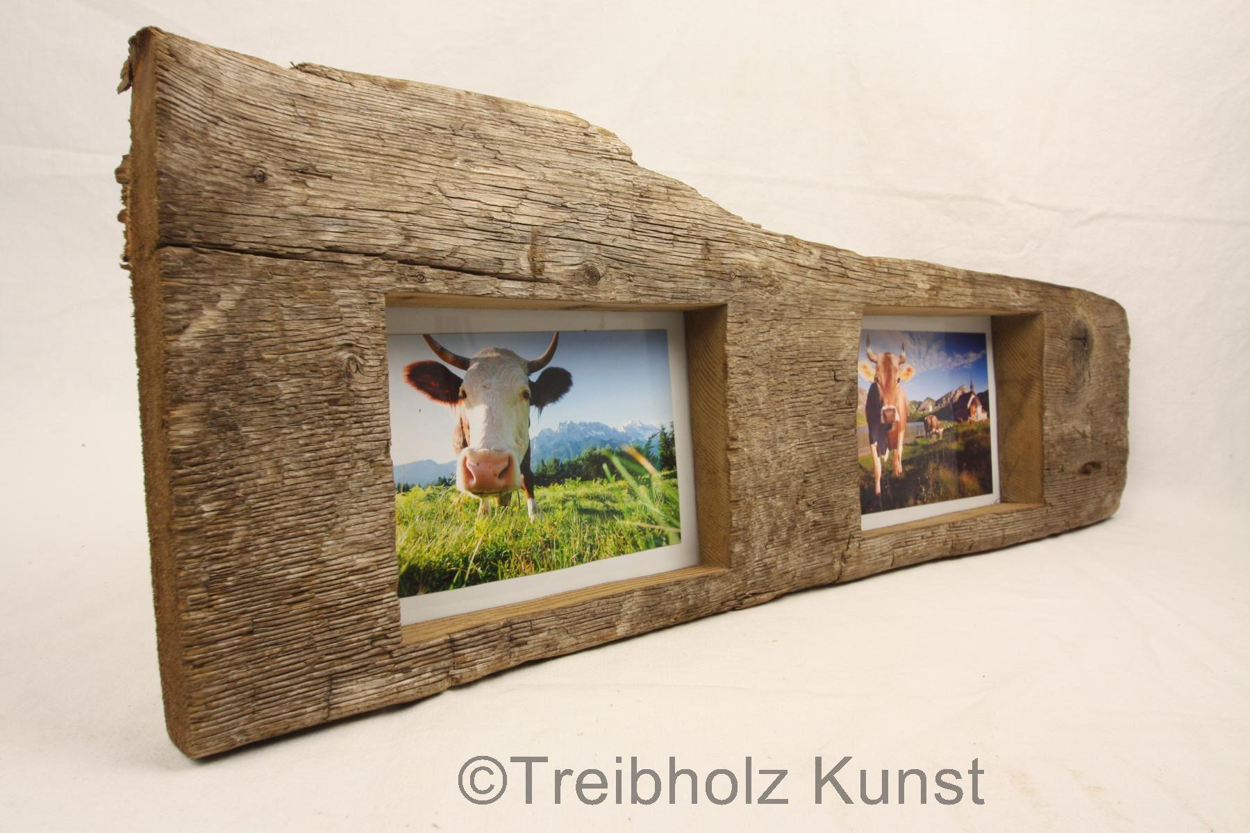 Doppelbilderrahmen Treibholz - www.treibholz-bodensee.de ...