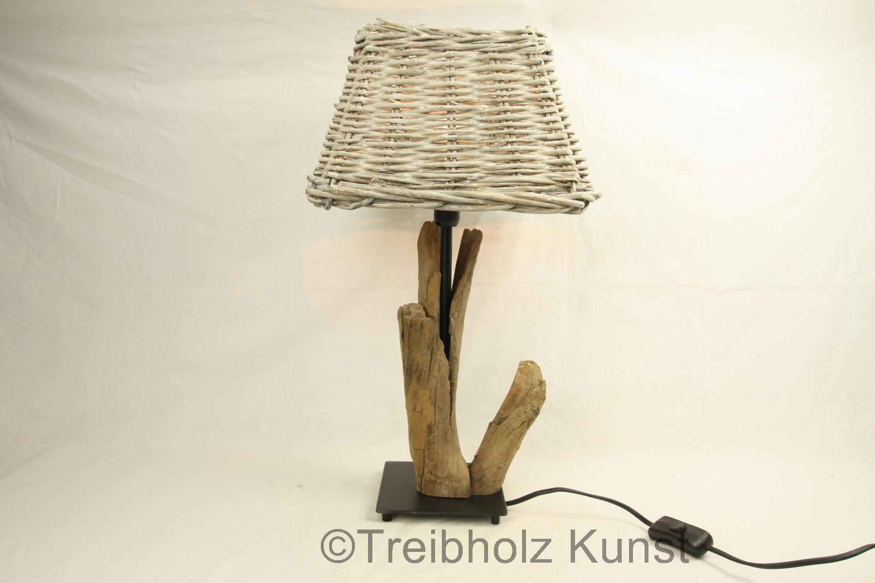 treibholz nachttischlampe. Black Bedroom Furniture Sets. Home Design Ideas
