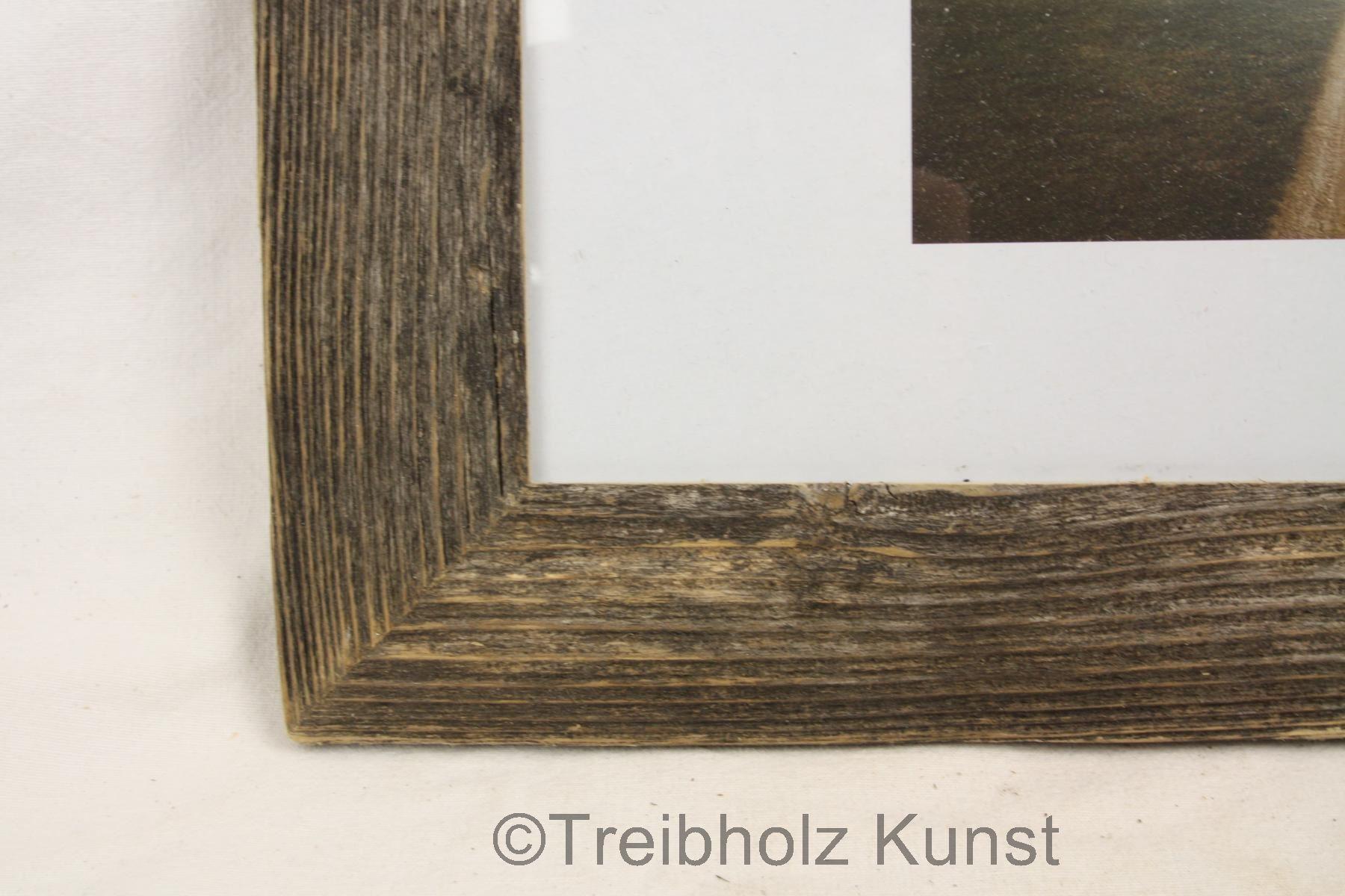 Dunkler Treibholz Rahmen - www.treibholz-bodensee.de - Schwemmholz ...