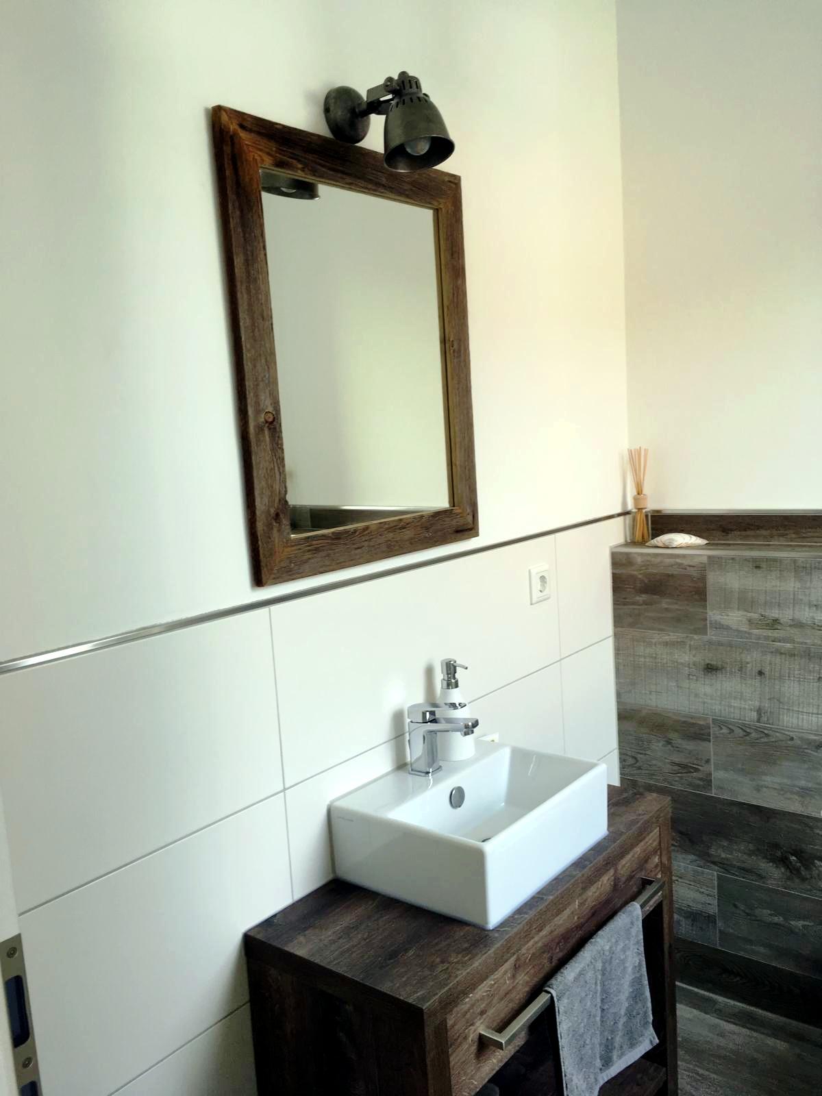 Kundenfotos - Rustikaler spiegel ...