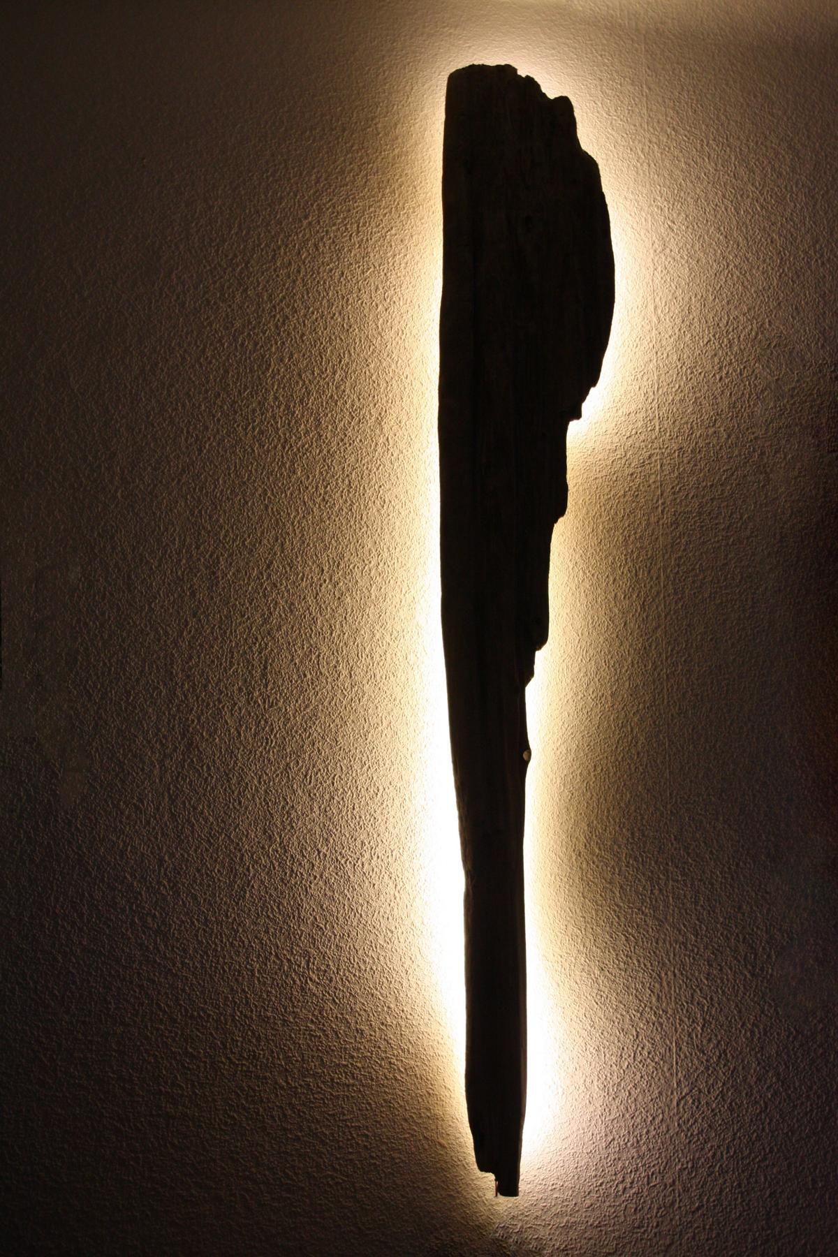 Einmalige treibholz lampen schwemmholz lampen - Wandlampe holz basteln ...